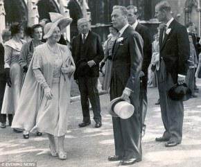 Queen Mary and King George VI, 1950