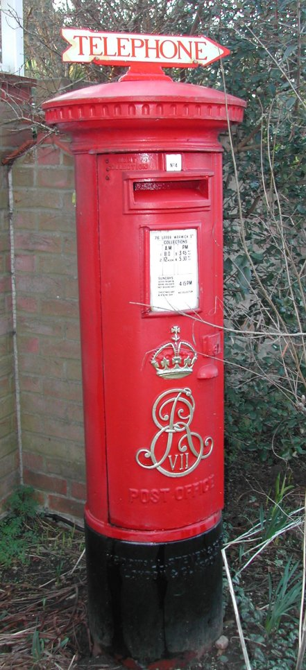 The Red Post Box: A Royal British Icon (5/6)