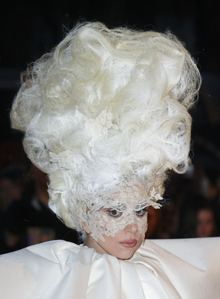 Masks, Wigs, Diamonds and Hair: Lady Gaga's Identity Parade (3/6)