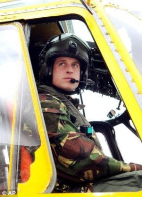 prince william raf search and rescue pilot