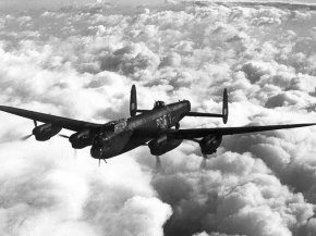 The Avro Lancaster in all her glory