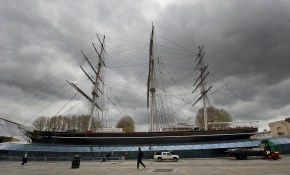 newly refurbed cutty sark