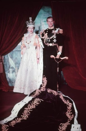 Elizabeth and Philip coronation 1953