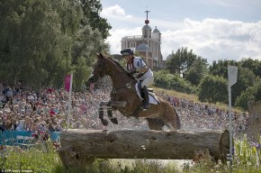 zara phillips high kingdom london 2012 cross country