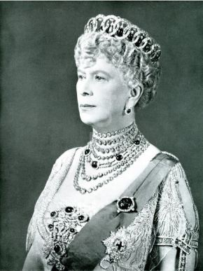 queen mary diamonds and rubies