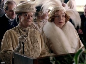 The Dowager Duchess has met her match in Martha Levinson, Cora's American mother.