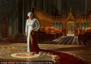 ralph heimans diamond portrait of the queen