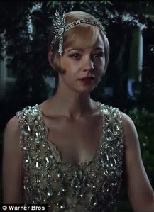 Carey Mulligan plays Daisy Buchanan, and gets to wear some very pretty dresses.