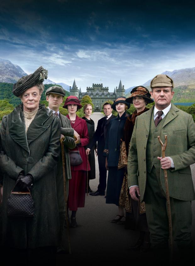 downton abbey christmas special 2012 scotland