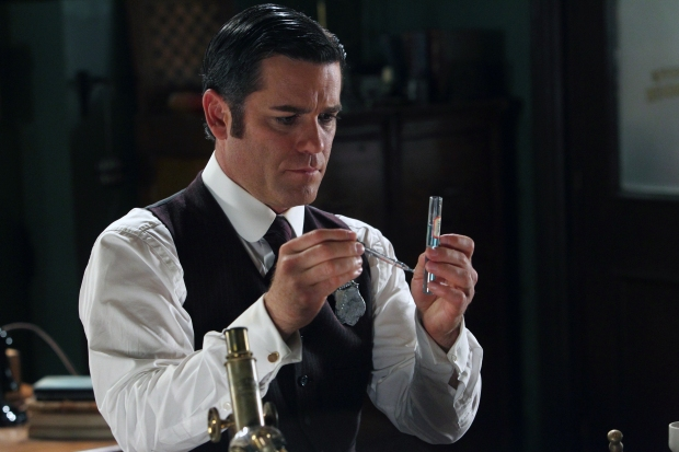 Detective William Murdoch, played by Yannick Bisson.