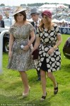 Princess Eugenie (L) and Princess Beatrice (R)