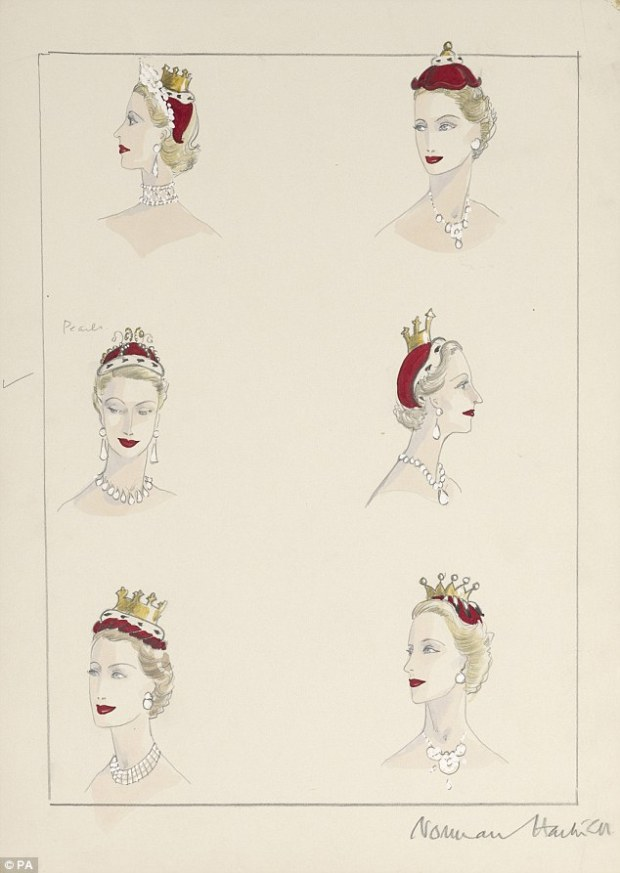 How to wear your tiara, a practical guide.