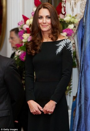 kate middleton new zealand dress