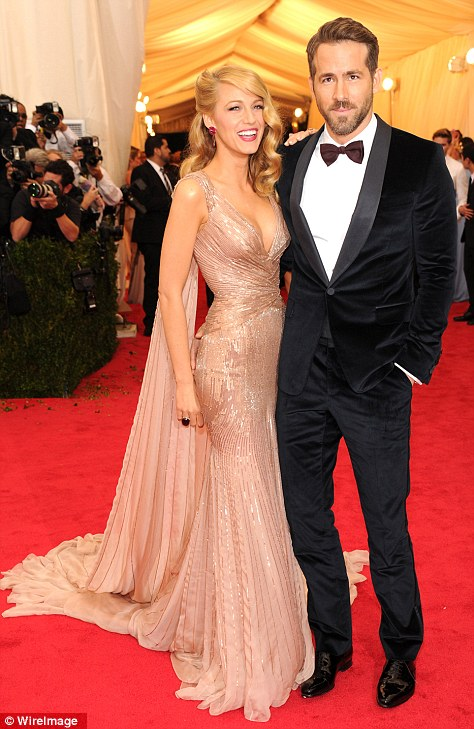1. Blake Lively in a stunning couture dress by Gucci. The epitomy of old school glamour in one dress.