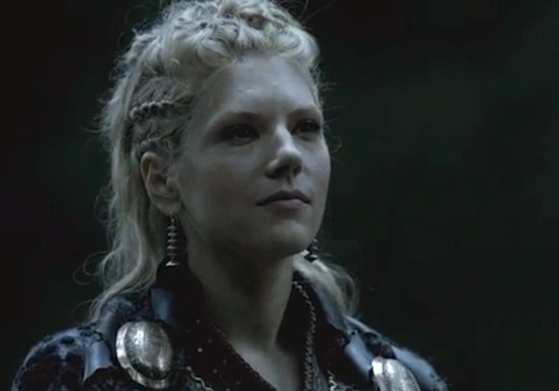Lagertha, shield maiden.