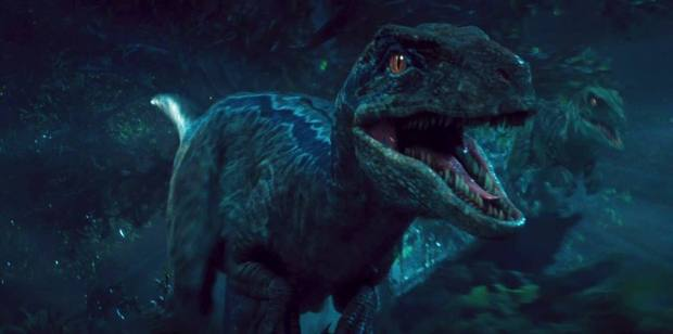 jurassic world blue the raptor