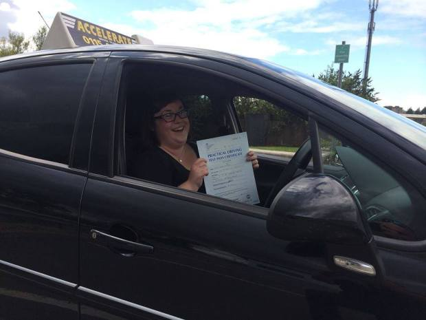 passing my driving test